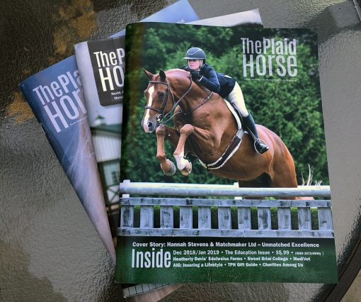 The Plaid Horse Magazine Press Release