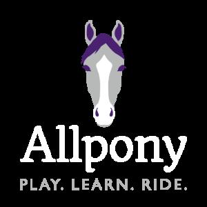 Allpony logo white