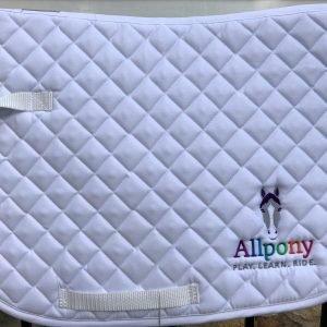 Allpony pony size saddle pad