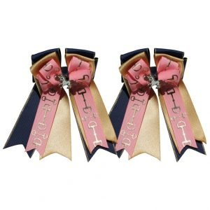 bit of pink horse show bows