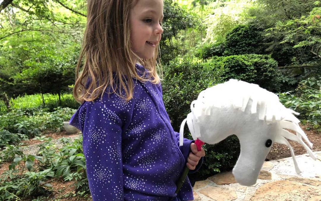 Make a Stick Horse Craft