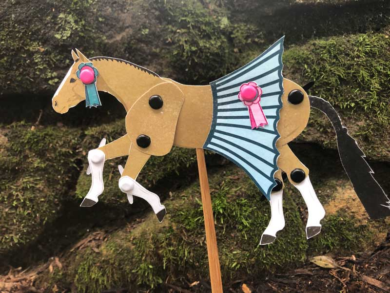 Articulated Horse Toy