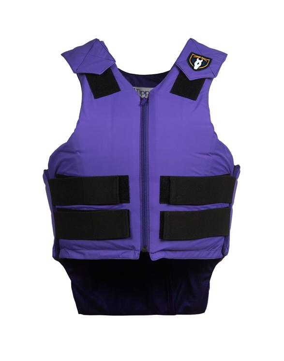 Tipperary Youth Safety Vest Purple
