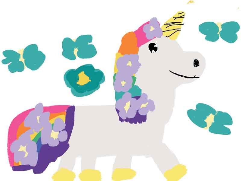 Daphne's Unicorn Drawing