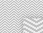Gray Zig Zag Chevron Pattern