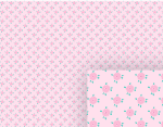 little pink flowers background pattern